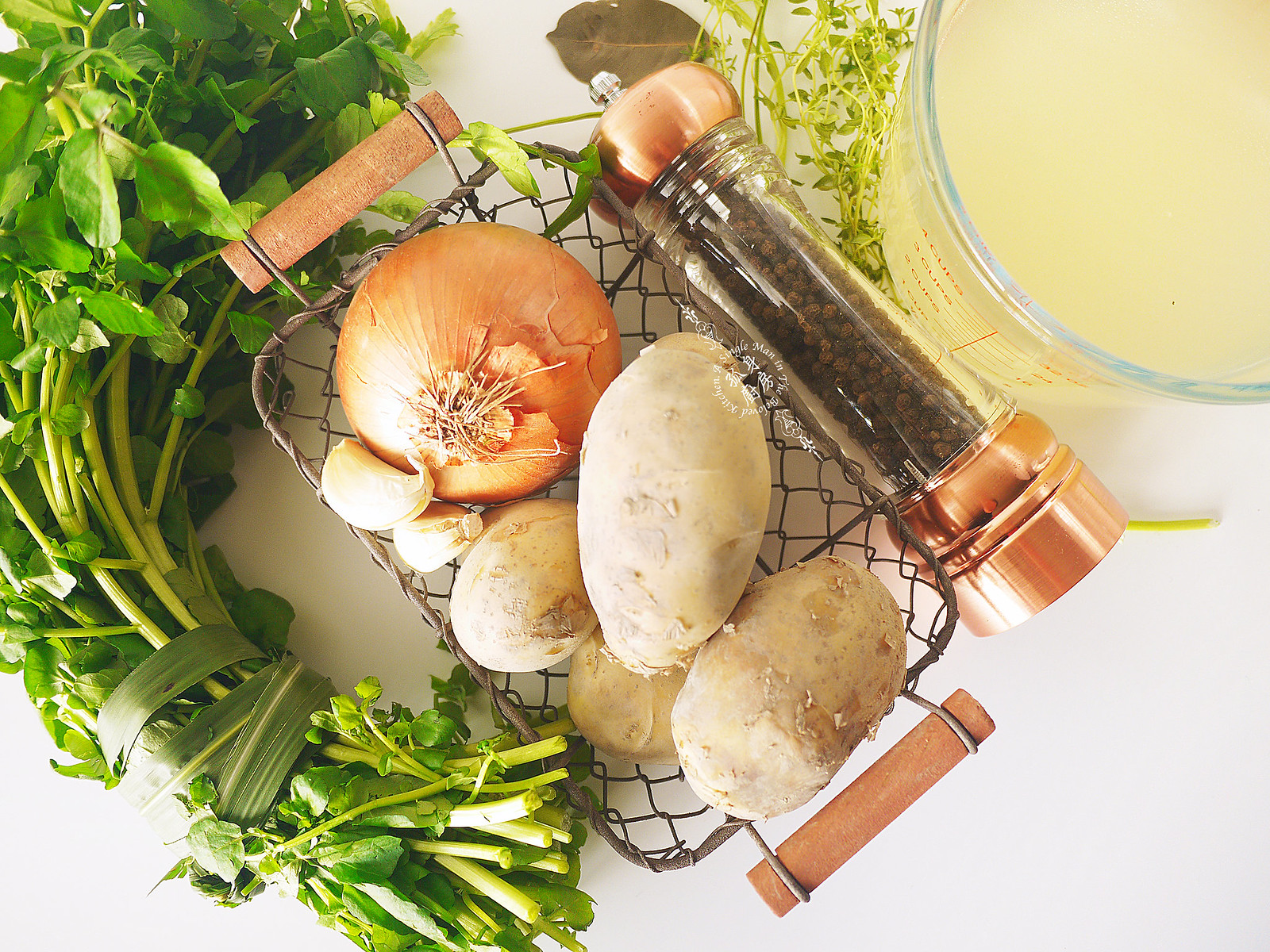 孤身廚房-西洋菜馬鈴薯濃湯2