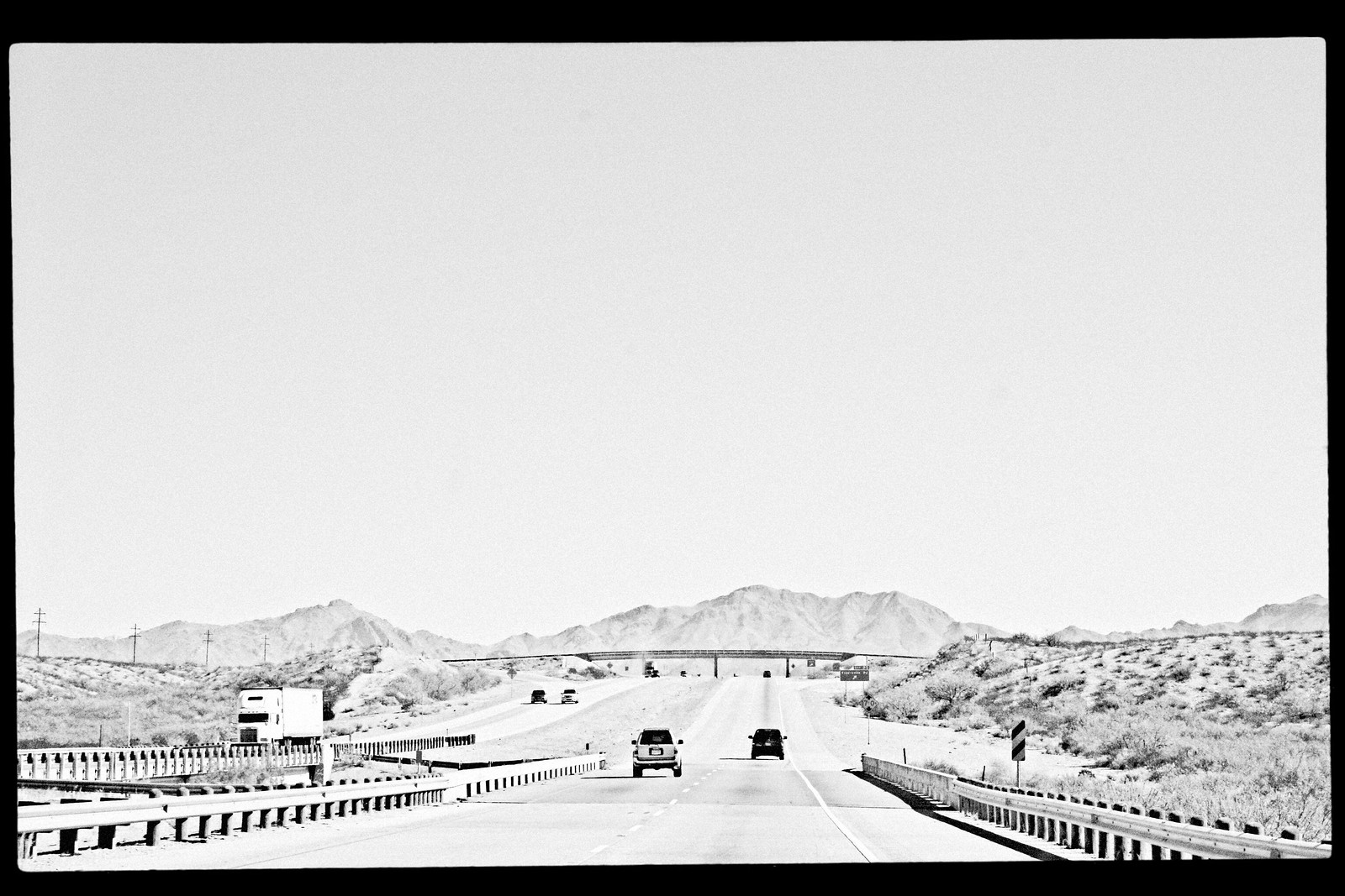 Mountains, Interstate 10, West Texas, 2006