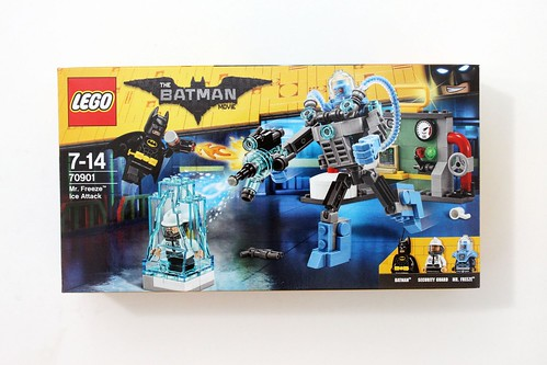 The LEGO Batman Movie Mr. Freeze Ice Attack (70901) Review - The ...