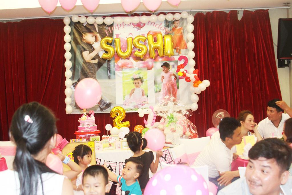 Sinh nhật bé Shushi
