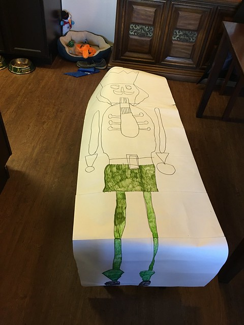 Giant Nutcracker Drawings