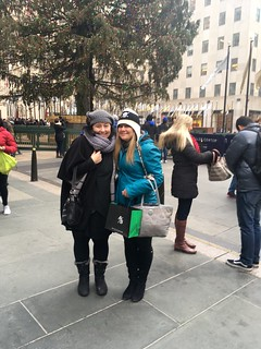 Me and my sister at the Rockefeller tree