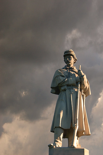 Monument, Antietam National Cemetery | by andertho