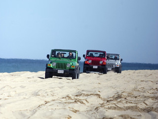 Jeeps 4x4 beachdriving | by discovernantucket