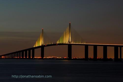 The sunshine skyway bridge flickr photo sharing for Skyway bridge fishing report