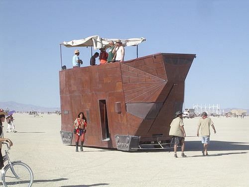 jawa sandcrawler art car | by giantmonster