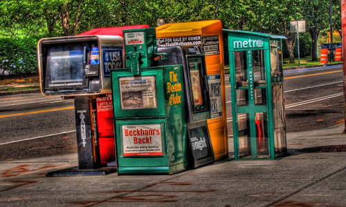 Newspaper stands | by wili_hybrid