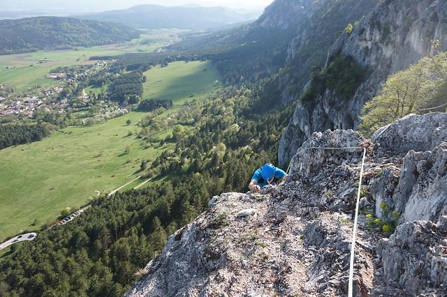 Hohe Wand Wüde Posteline 265m 6