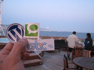Wordpress, Technorati, GBC stickers | by Titanas