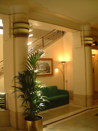 Hackney town hall 1930s london art deco interior main for Drawing hall interior