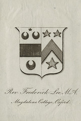 [Bookplate of Reverend Frederick Lee] | by Pratt Institute Library