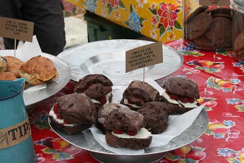 chocolate panini with mascarpone and raspberries | I didn't ...