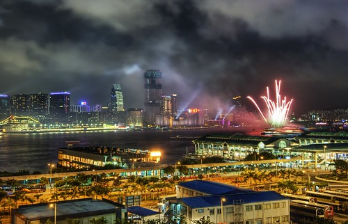Hong Kong Fireworks in the South China Sea | by Stuck in Customs