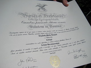 and there it is... THE DIPLOMA | by one more dreamer