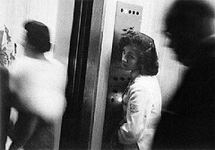 """Elevator, Miami Beach"" by Robert Frank (1958) 