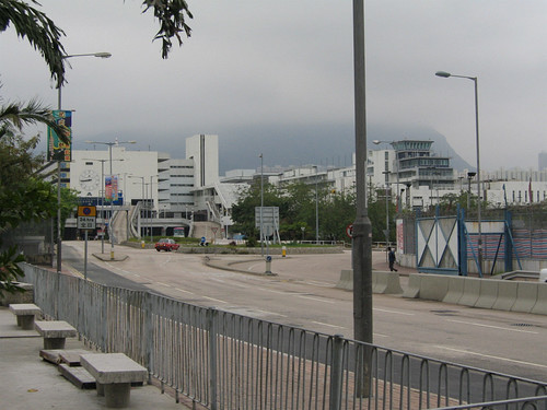 Kai Tak airport terminal