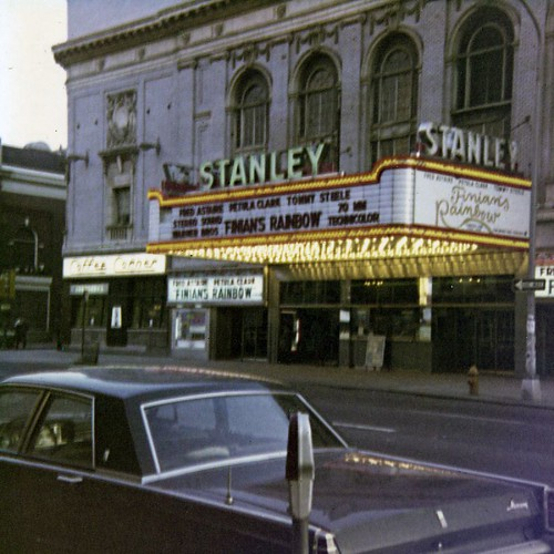 Stanley Theatre, Philadelphia, photo by Dennis Zimmerman | by HowardBHaas