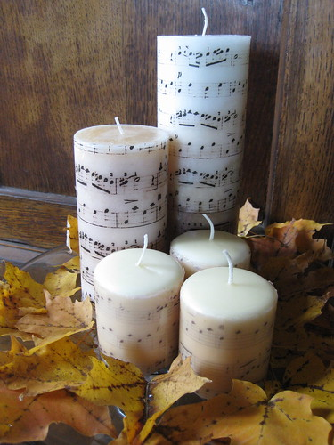 DIY Music Candles | by Gail Jacobson