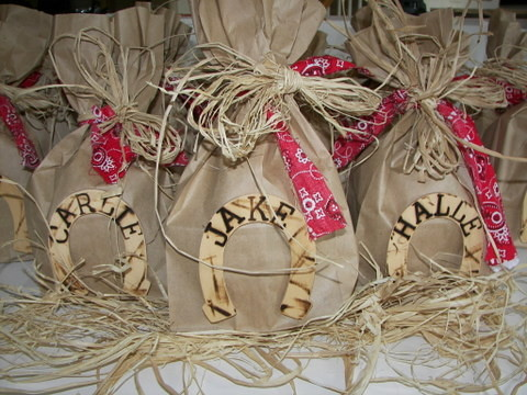 cowboy party favors | by mommawants1more