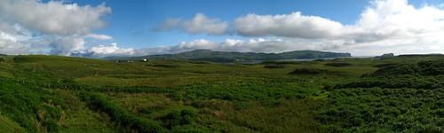 panoramic Isle of Skye
