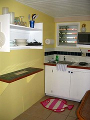 Palmetto Guesthouse Back Kitchen | by palmettoculebra
