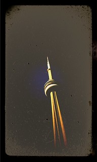 toronto's cn tower | by alphabet soup studio / lenore locken
