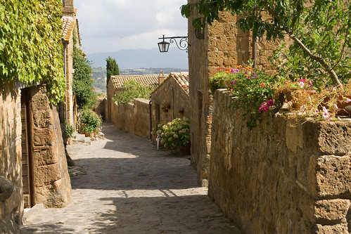 The streets, no, street, of Civita | by Pug!