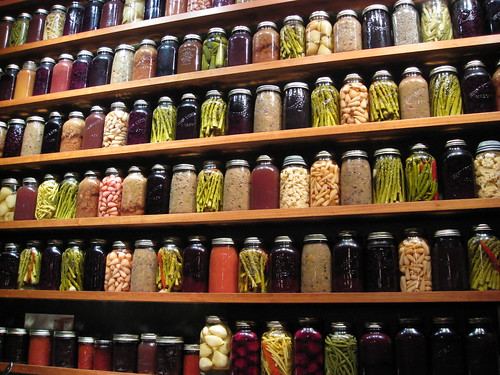 Wall of Preserves & Pickles | by Renée S. Suen