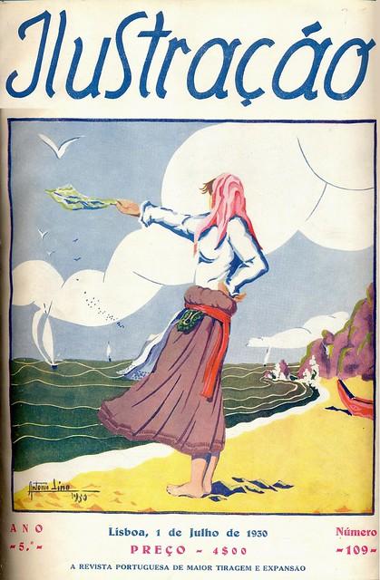 Ilustração, No. 109, Julho 1 1930 - capa