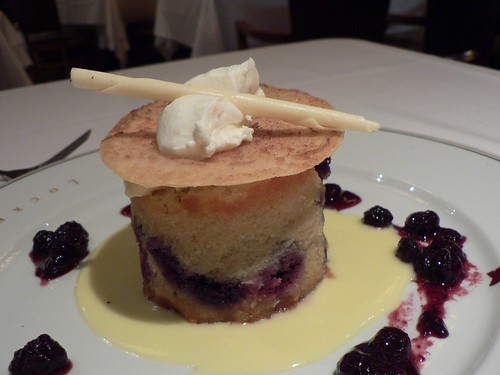 blueberry financier | vanilla gelato white chocolate shaving… | stu ...