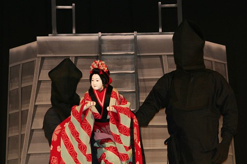 Bunraku puppet in Gion | by Richard Forward