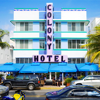 Colony Hotel (1939), 736 Ocean Drive, South Beach, Miami Beach, Florida | by lumierefl