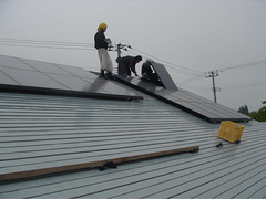Solar Panel install | by Richard Masoner / Cyclelicious