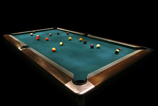 Flashlight Lit Pool Game | by shelbywhite