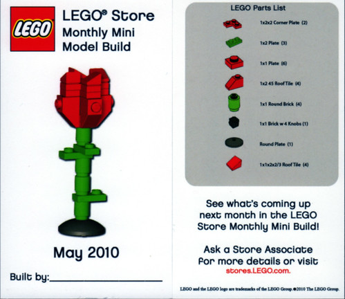 Lego Monthly Mini Build May
