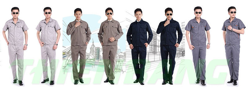 các mẫu đồng phục bảo hộ lao động cho nhân viên