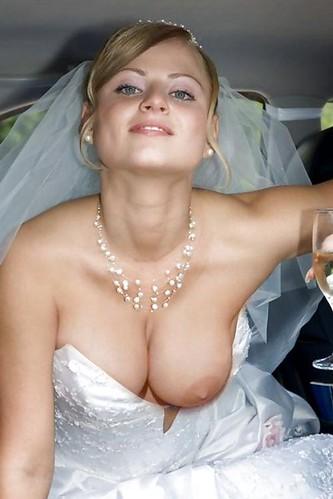 голая невеста случайное фото