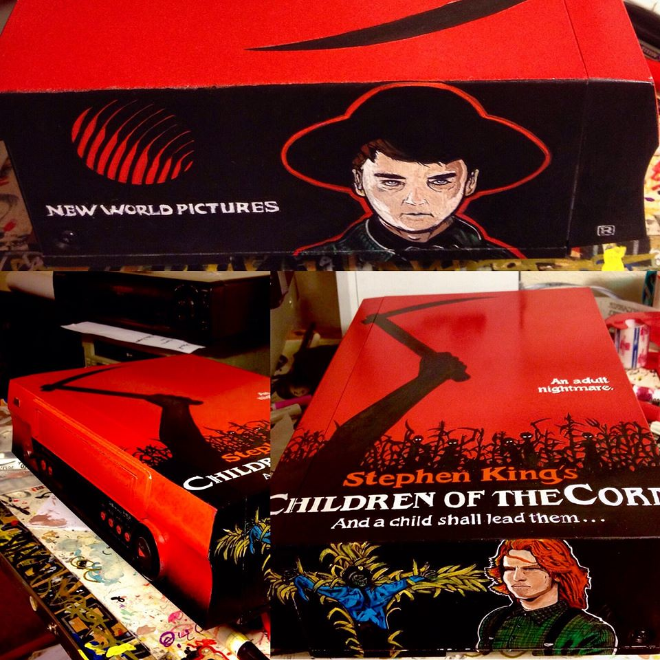 Children of the Corn custom VCR by Sorce CodeVhs