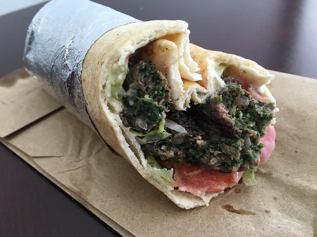 Kufta kabob sandwich - Sunrise Deli