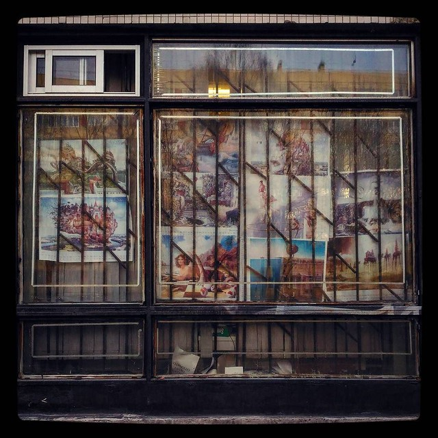 Surrealistic decorations for #RussianPost, #windowspotting for #365days project, 44/365
