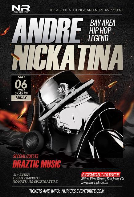 Andre Nickatina Break Bread Tour