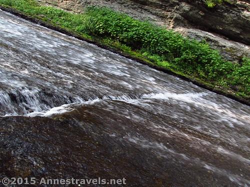 Slide Creek Falls in the Wind River Range of Wyoming
