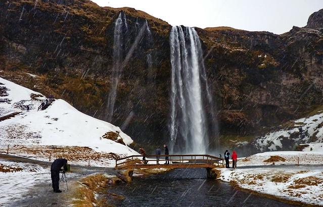 Seljalandsfoss I Iceland