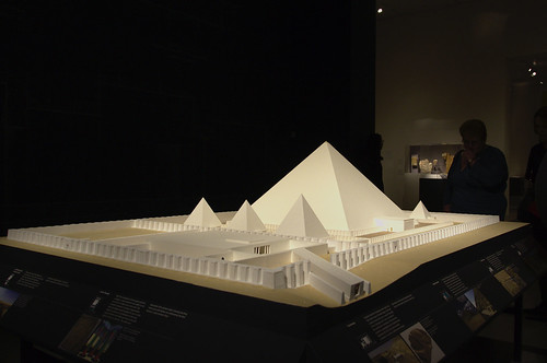 Model of the Pyramid Complex of Senwosret III, Dashur