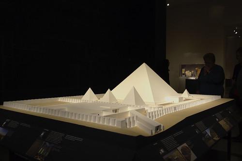 Model of the Pyramid Complex of Senwosret III, Dashur