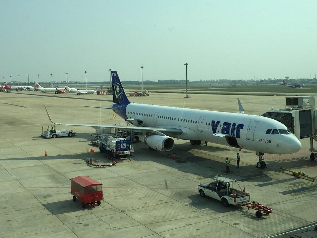 V Air A321-231 at Don Muang Airport