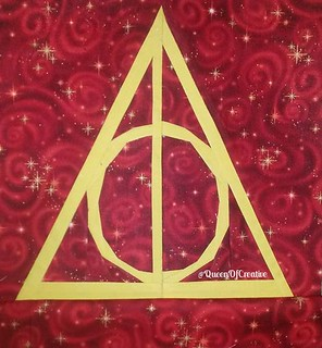 17-block deathly hallows symbol