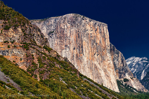 El Capitan from the Tunnel View | Yosemite National Park, CA | September, 2014  by Somnath Mukherjee Photoghaphy