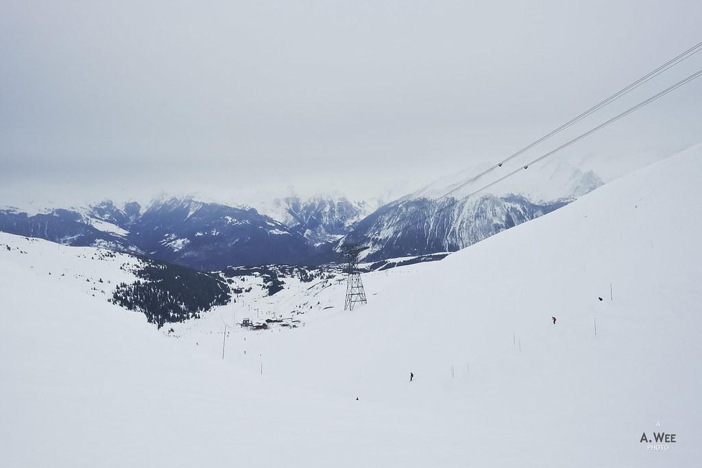 Saulire ski trail