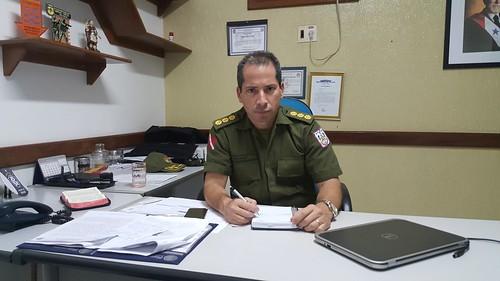Os 17 comandantes do CPR-1 em 23 anos de existência, Coronel PM Tomaso
